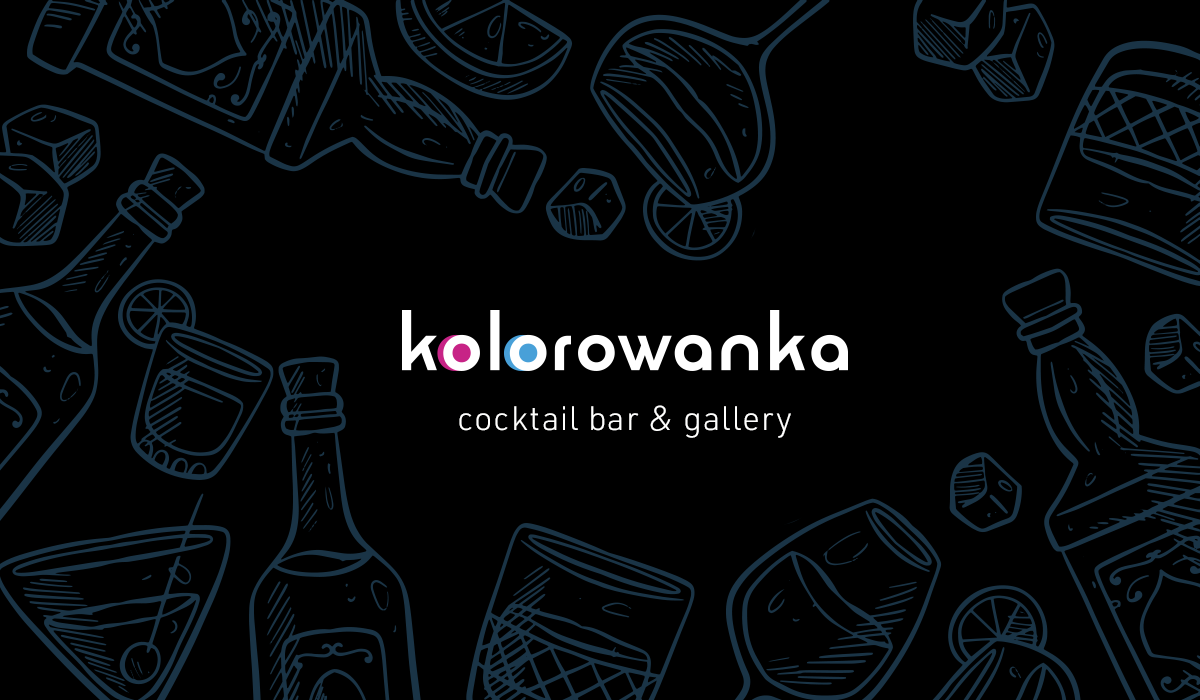 kolorowanka cocktail bar & gallery baner